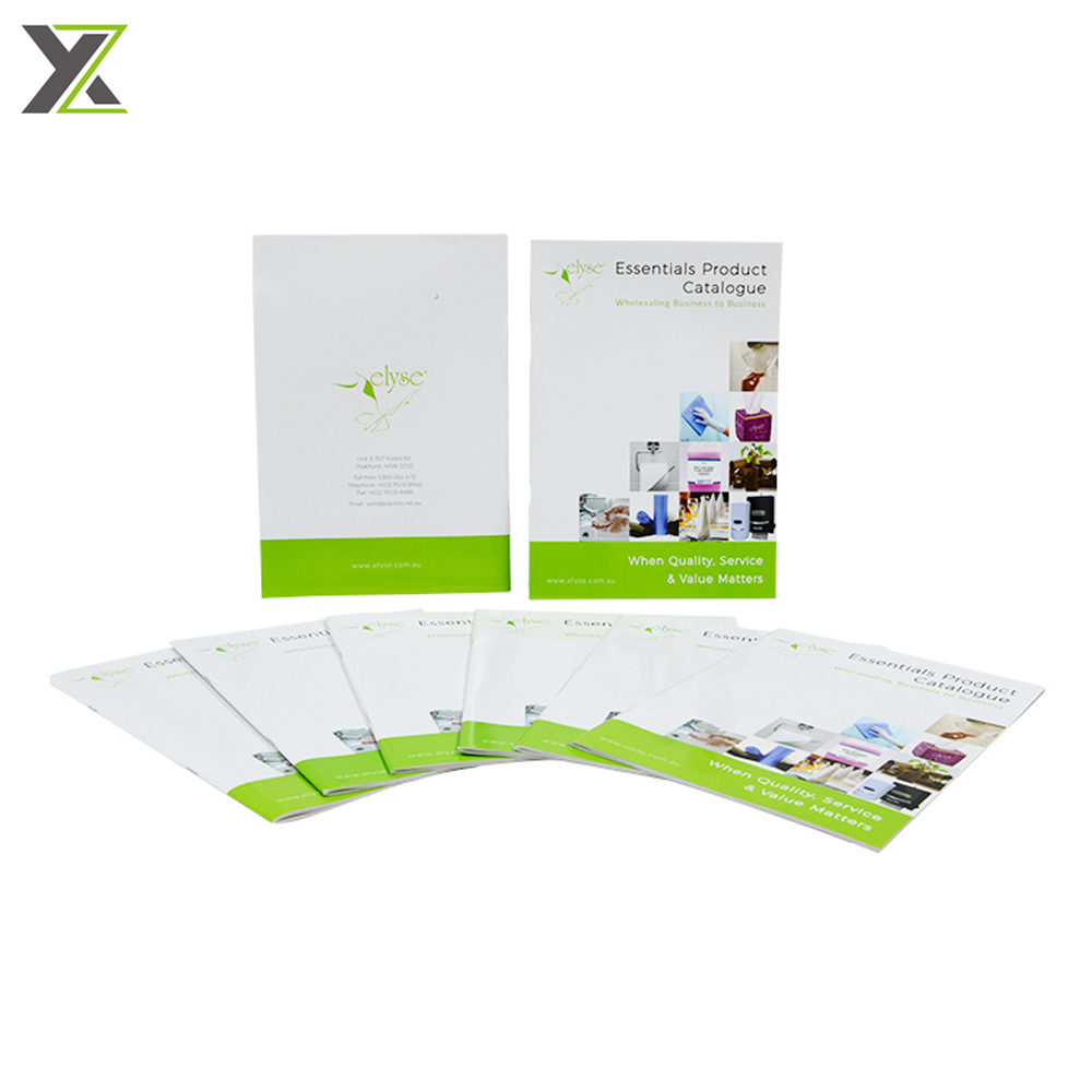 CMYK printing company product brochure booklets printing