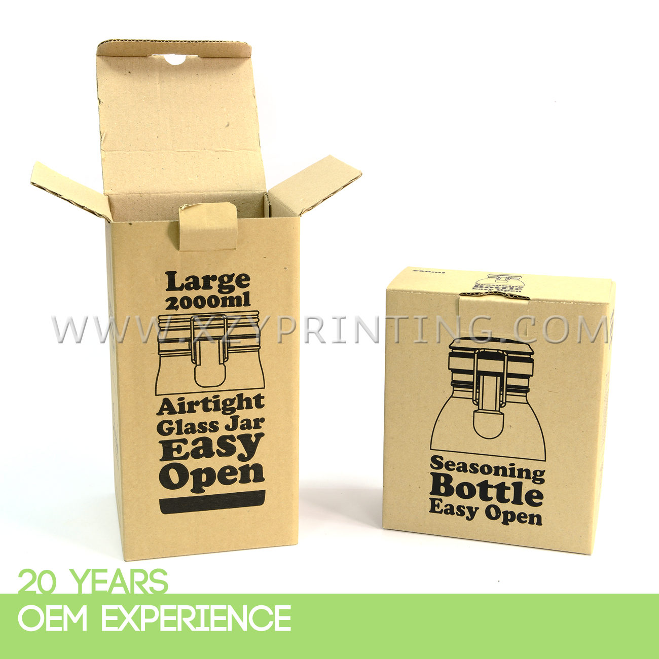 OEM recycle environment-friendly carton Box