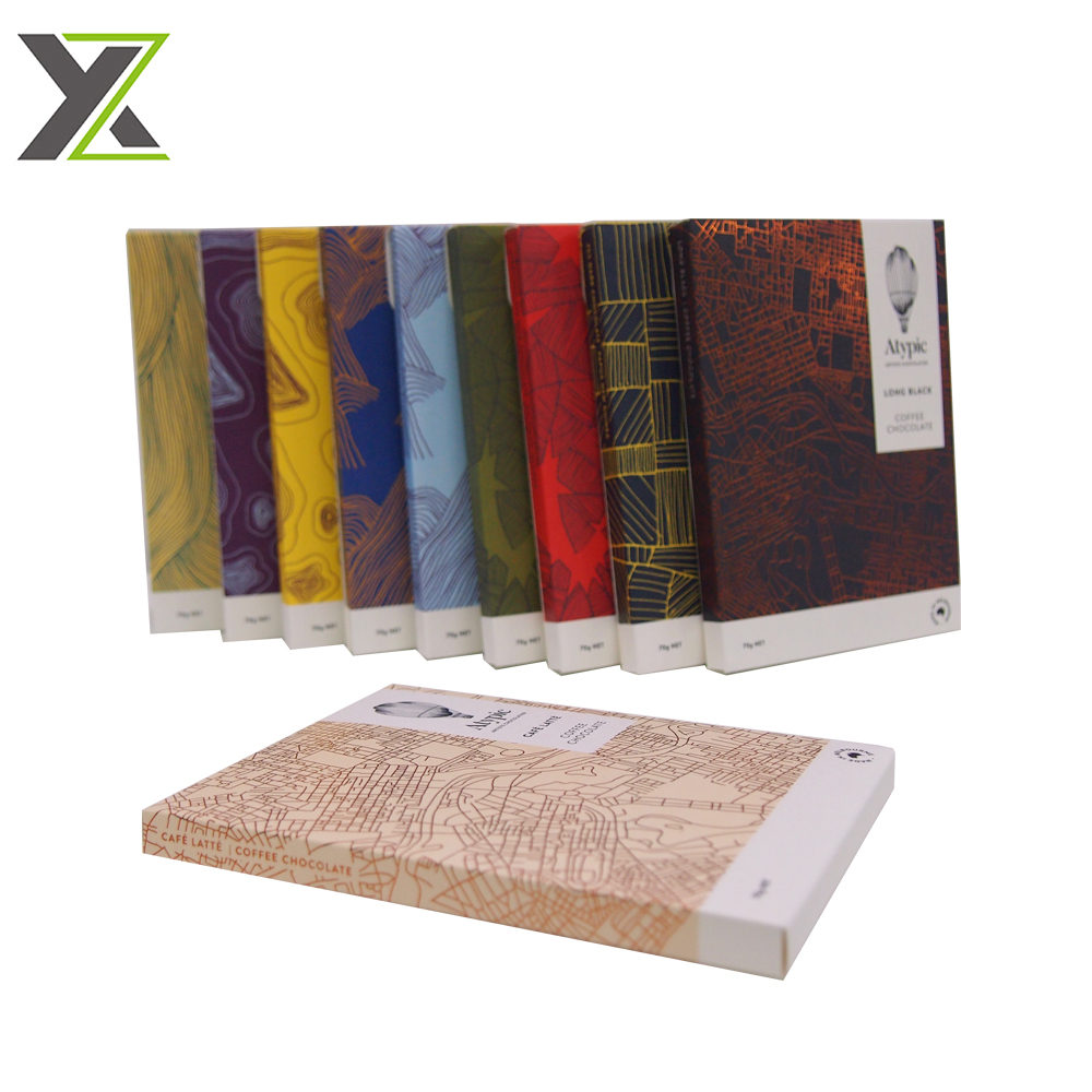 Manufacturer price eco kraft paper material 2 pieces packing boxes for books