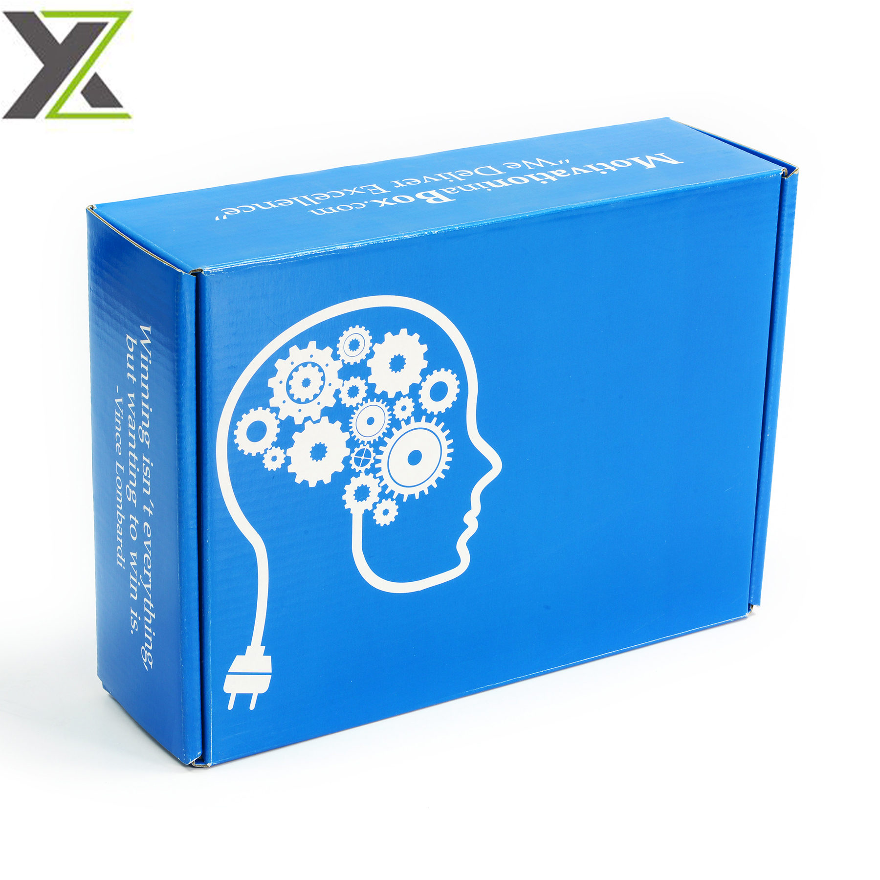Customize both sides printing self assemble corrugated mailer boxes