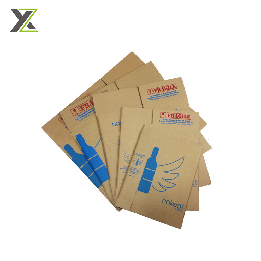 High quality and high hardness eco friendly wine carton box