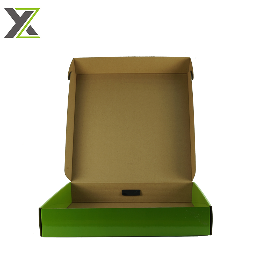 Customized self assemble cardboard boxes with plastic handle for pro pot system